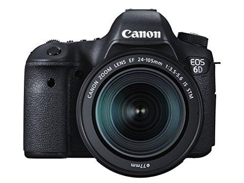 canon eos 6d digital slr camera with 24 105 mm stm lens kit