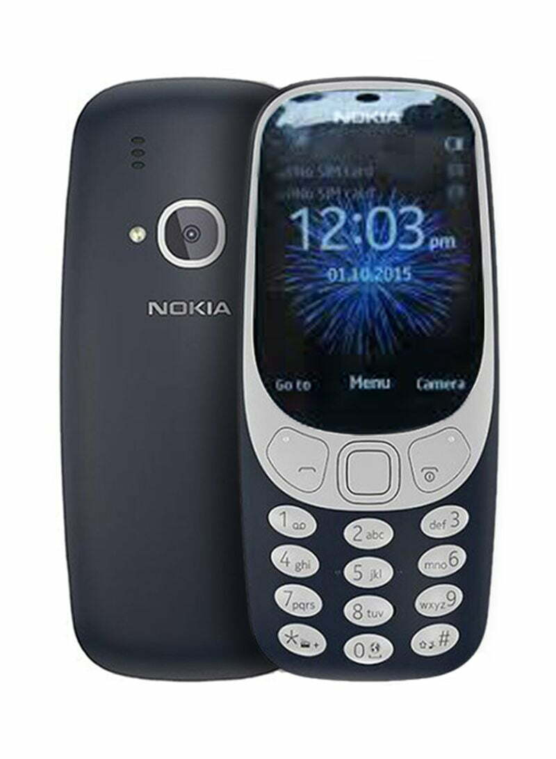 3310 dual sim dark blue matte 16mb 2g 1