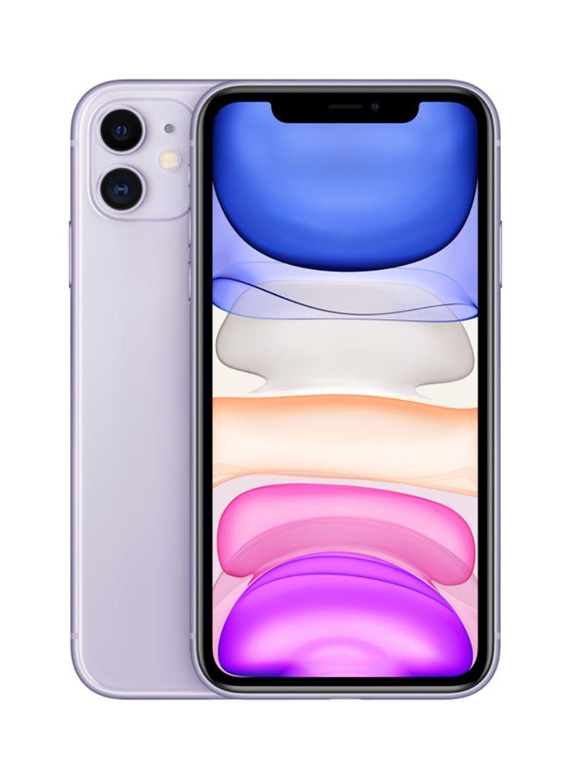 iphone 11 with facetime purple 128gb 4g lte ksa specs 3 1