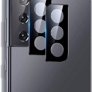 fntechpro 2 pack compatible for samsung galaxy s21 camera lens screen