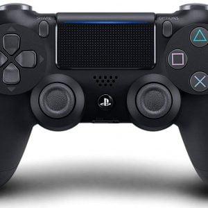 genuine playstation 4 jet black dualshock wireless controller