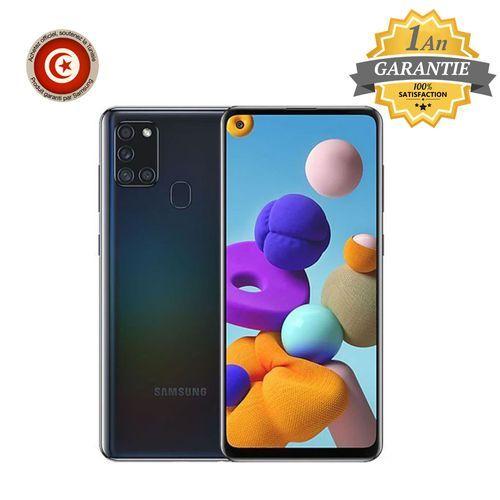"Galaxy A21s - 6.5"" - 4 Go - 128 Go - Noir - Garantie 1 an"